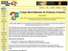 Using Sketchbooks in Primary Schools Worksheet