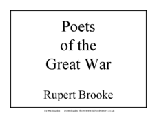 Poets of the Great War Presentation