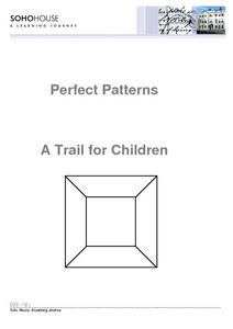 Perfect Patterns: A Trail for Children Worksheet