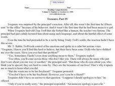 """Treasure, Part IV"" Worksheet"