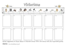 Victorians Worksheet