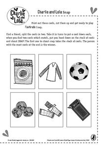 Charlie and Lola Snap Worksheet