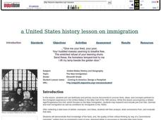 Coming to America: U.S. Immigration Lesson Plan
