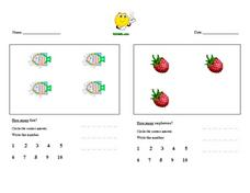 K6 Math.com How Many? Worksheet