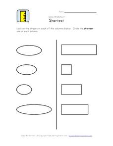 Size:  Shortest Worksheet