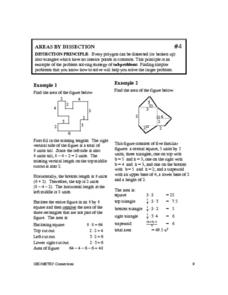 Areas by Dissection Worksheet
