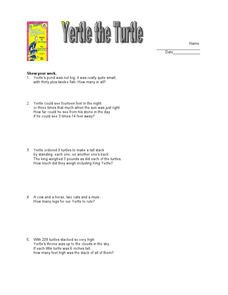 Yertle the Turtle Worksheet