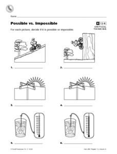 Possible vs. Impossible Worksheet