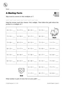 A-Mazing Facts Worksheet