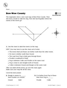 Bow-Wow County Worksheet