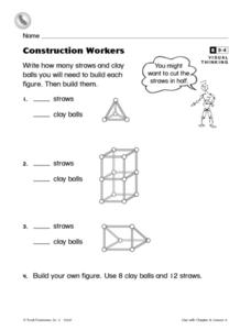 Construction Workers Worksheet