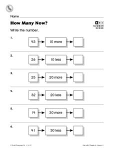 How Many Now? Worksheet