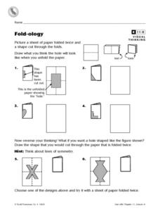 Fold-ology Worksheet