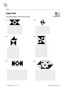 Copy Cats Worksheet