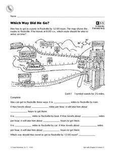 Which Way Did He Go? Worksheet
