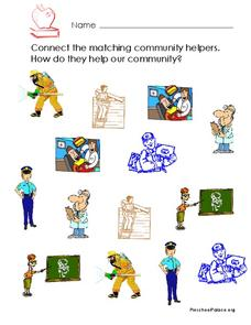 Community Helpers Worksheet