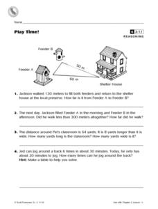 Play Time! Worksheet