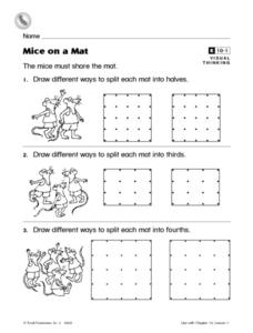 Mice on a Mat Worksheet