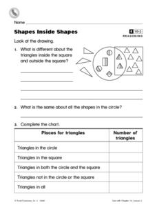 Shapes Inside Shapes Worksheet