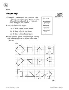 Shape Up: Playing with Shapes Worksheet