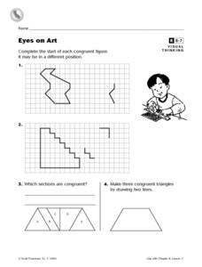 Eyes on Art Worksheet