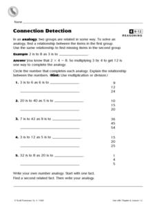 Connection Detection Worksheet