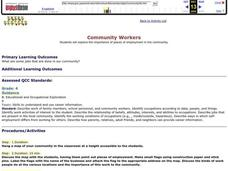 Community Workers Lesson Plan