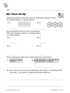 Mix Them All Up Worksheet