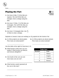 Playing the Part Worksheet