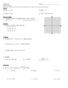 system of equations review worksheet for 11th grade lesson planet. Black Bedroom Furniture Sets. Home Design Ideas