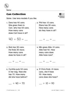 Can Collection Worksheet