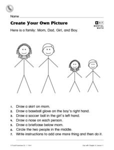 Create Your Own Picture Worksheet