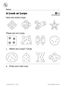 A Look at Lorps Worksheet