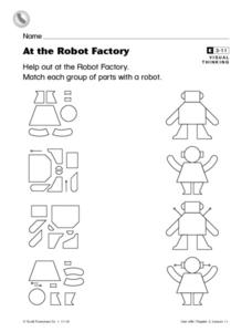 At The Robot Factory Worksheet