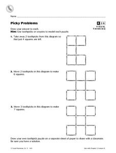 Picky Problems Worksheet