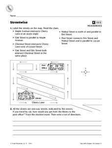 Streetwise Worksheet