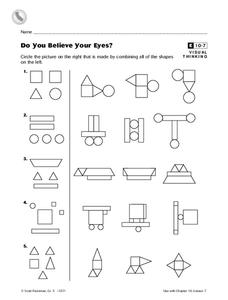 Do You Believe Your Eyes? Worksheet
