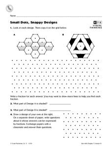 Small Dots, Snappy Designs Worksheet