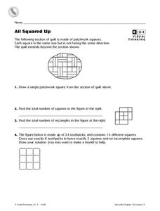 All Squared Up Worksheet