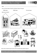 History of Homes- Victorian Era Worksheet