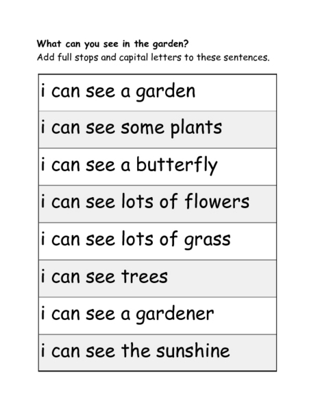Full Stops and Question Marks 1st - 2nd Grade Worksheet   Lesson ...