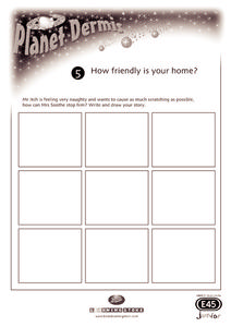 Planet Dermis Worksheet