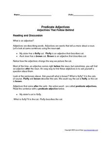 worksheet: Worksheets On Subjects And Predicates Predicate ...