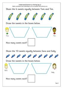 Understanding Division As Sharing Worksheet