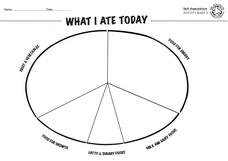 What I Ate Today Lesson Plan