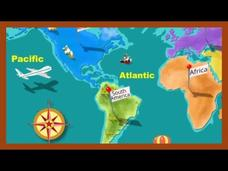Continents and Oceans Video