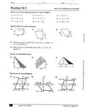 Printable Area of Parallelogram worksheet | Math | Pinterest