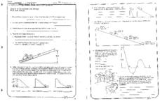 Chapter 3: Momentum and Energy Worksheet