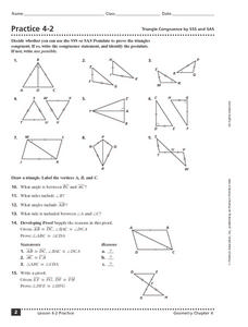 Congruent Triangle Worksheet Photos - Getadating