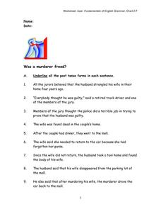 Fundamentals of English Grammar Worksheet